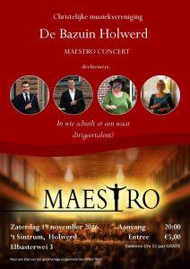 Poster Maestro